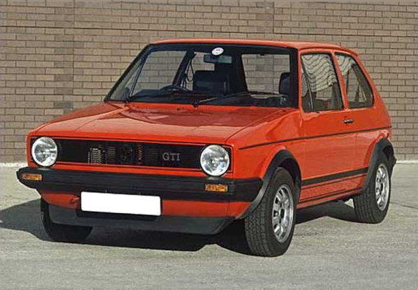 1974 Volkswagen Golf Hatchback 3-door