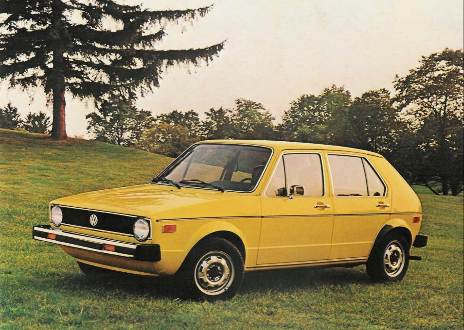 1974 Volkswagen Golf Hatchback 5-door