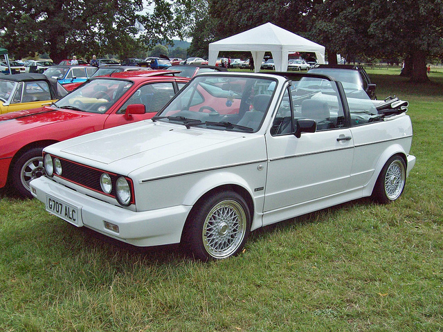 1979 Volkswagen Golf Cabriolet Convertible 2-door