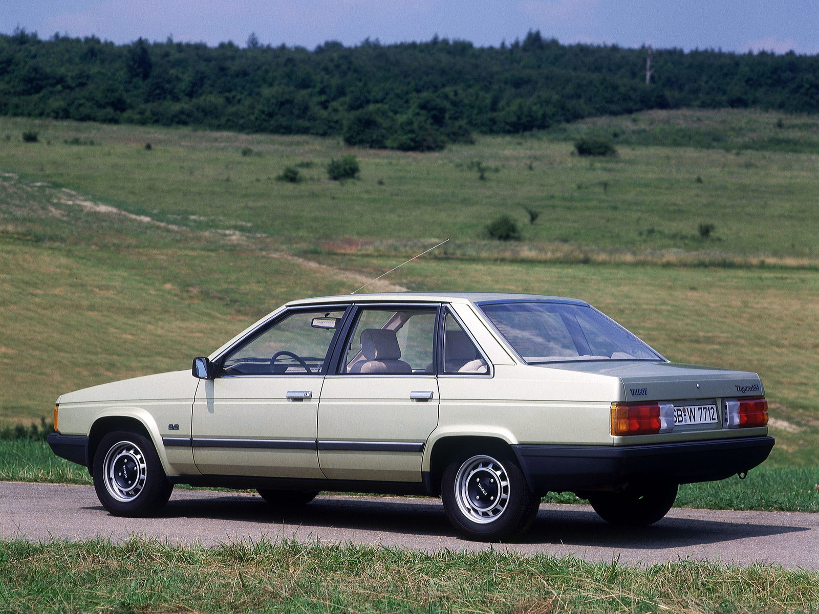 1981 Talbot Tagora Sedan 4-door