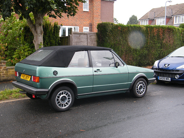 1981 Volkswagen Golf Cabriolet Convertible 2-door