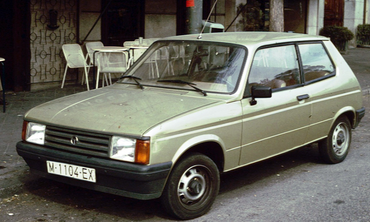 1982 Talbot Samba Convertible 2-door