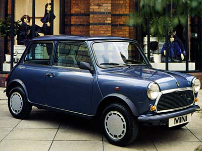 1983 Austin Mini Hatchback 2-door