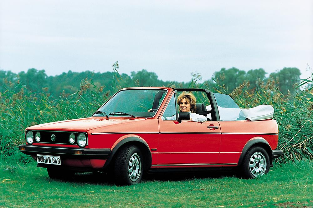 1983 Volkswagen Golf Cabriolet Convertible 2-door