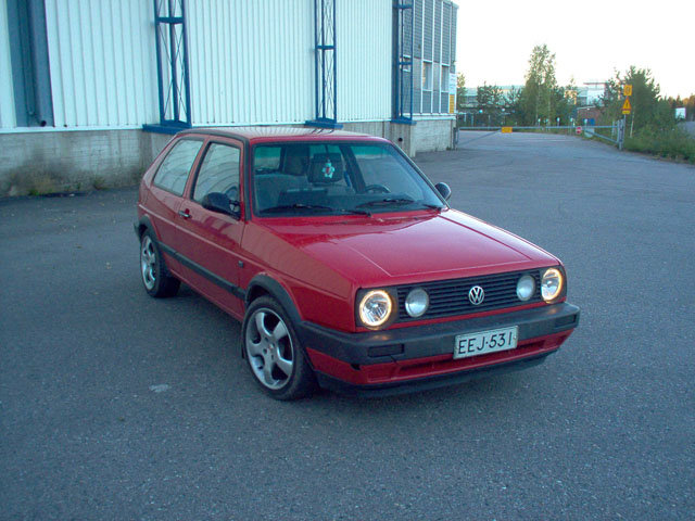 1986 Volkswagen Golf Hatchback 3-door