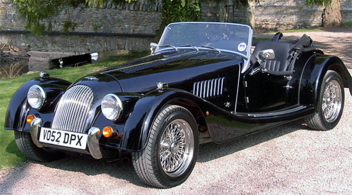 1988 Morgan Plus 4 Convertible 2-door