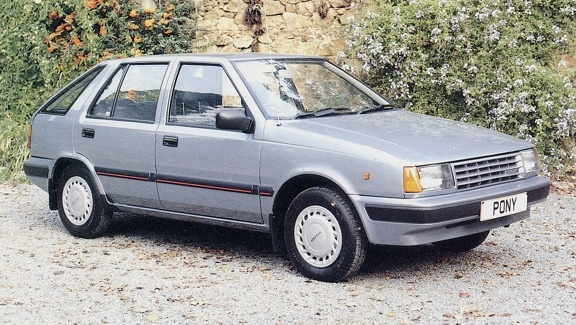 1989 Hyundai Pony Hatchback 3-door