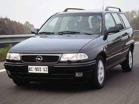 1991 Opel Astra Stationwagon Wagon 5-door