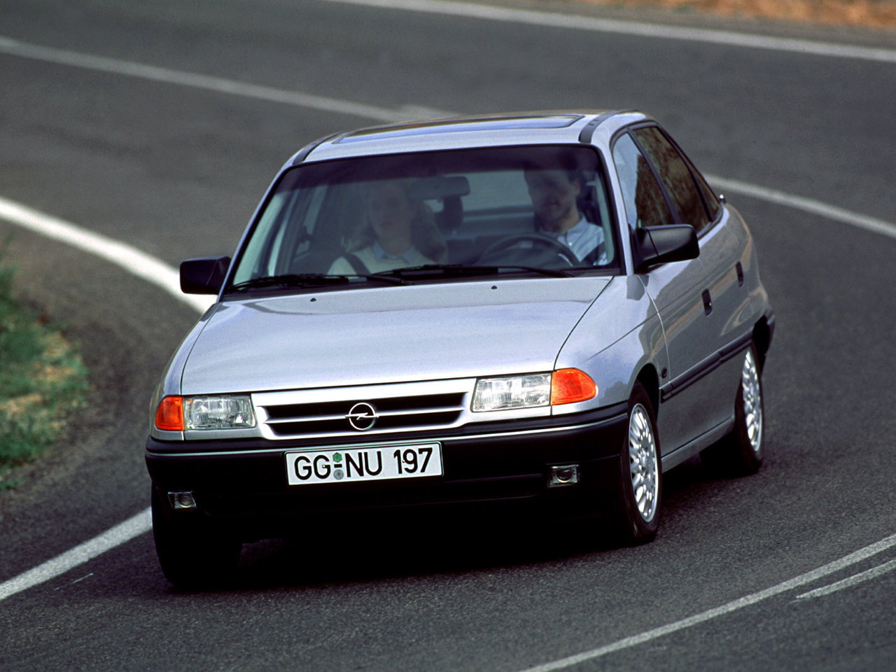 1991 Opel Astra Hatchback 5-door