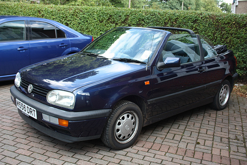 1993 Volkswagen Golf Cabriolet Convertible 2-door