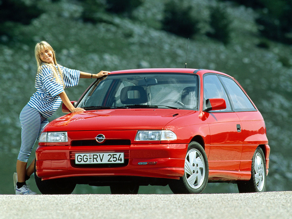 1994 Opel Astra Hatchback 3-door