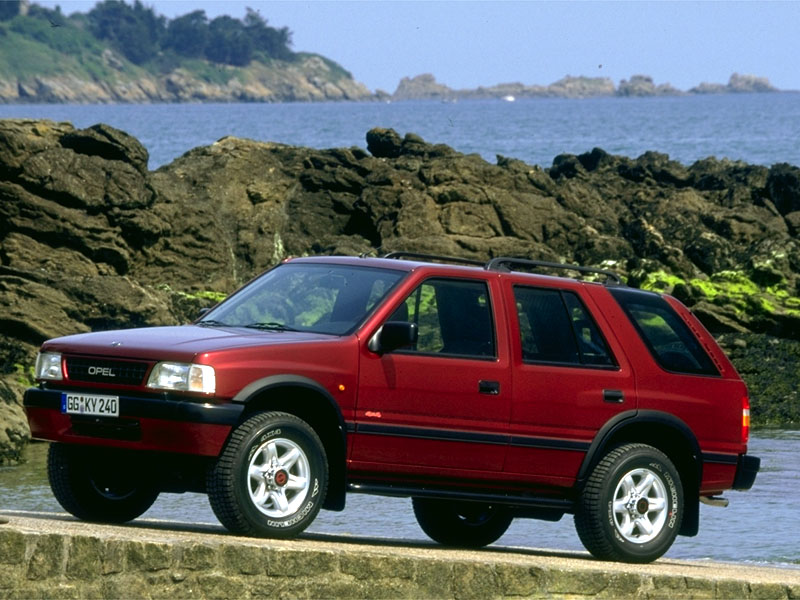 Opel Frontera Cars Specifications Technical Data