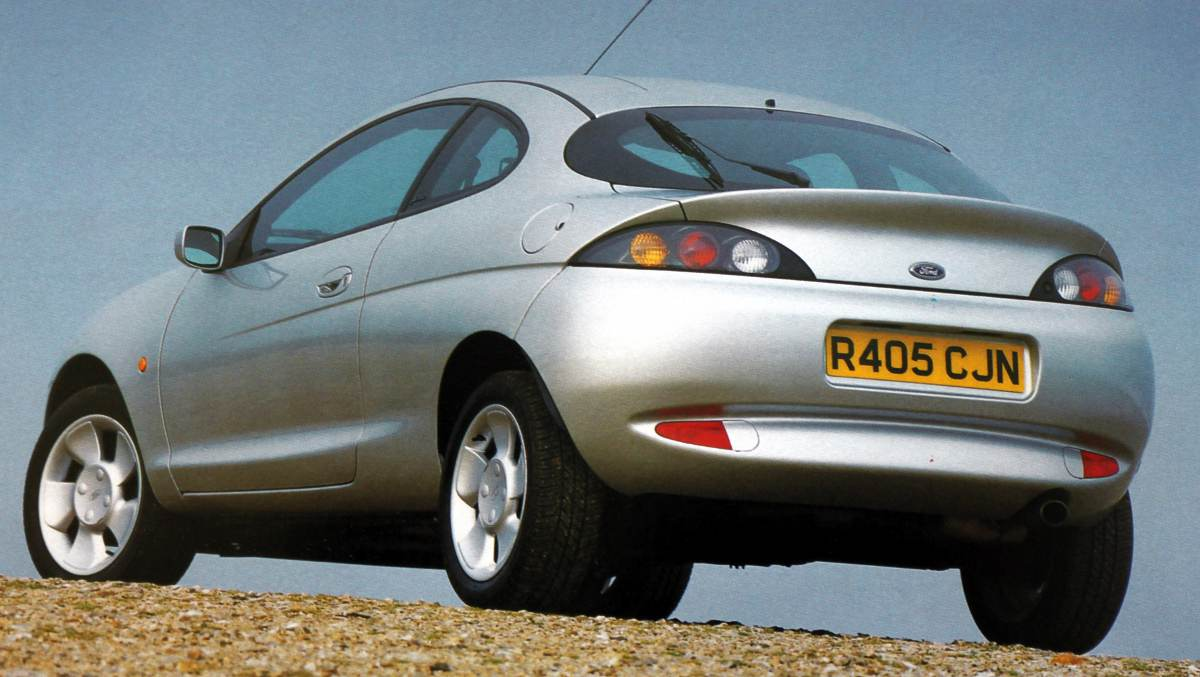 1997 Ford Puma Coupe 3-door