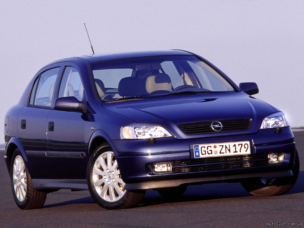 1998 Opel Astra Sedan 4-door