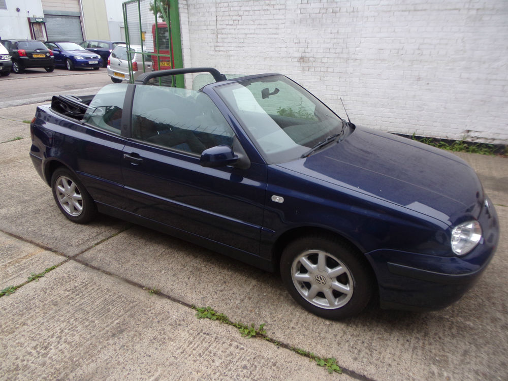 1998 Volkswagen Golf Cabriolet Convertible 2-door