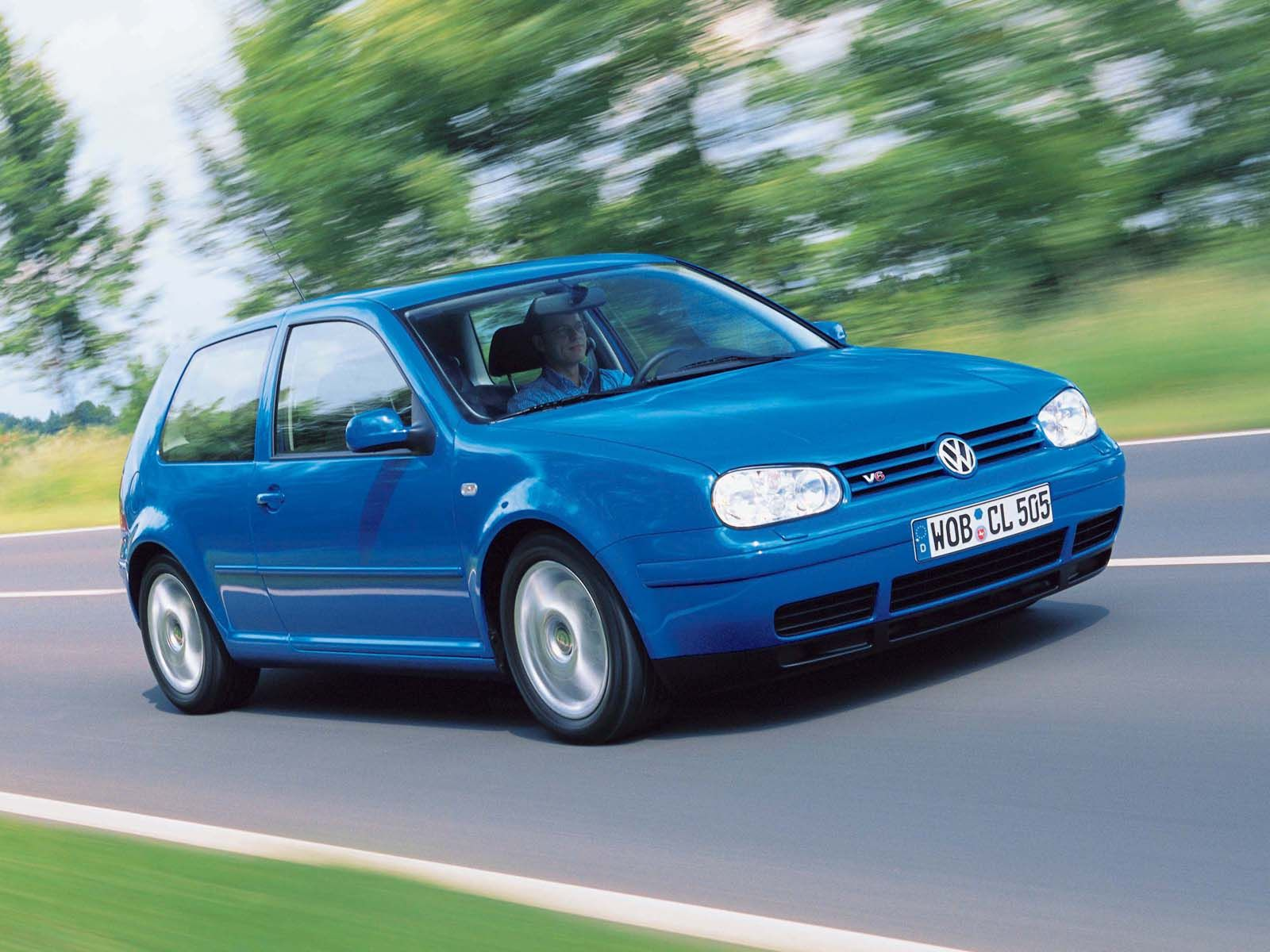 1998 Volkswagen Golf Hatchback 3-door