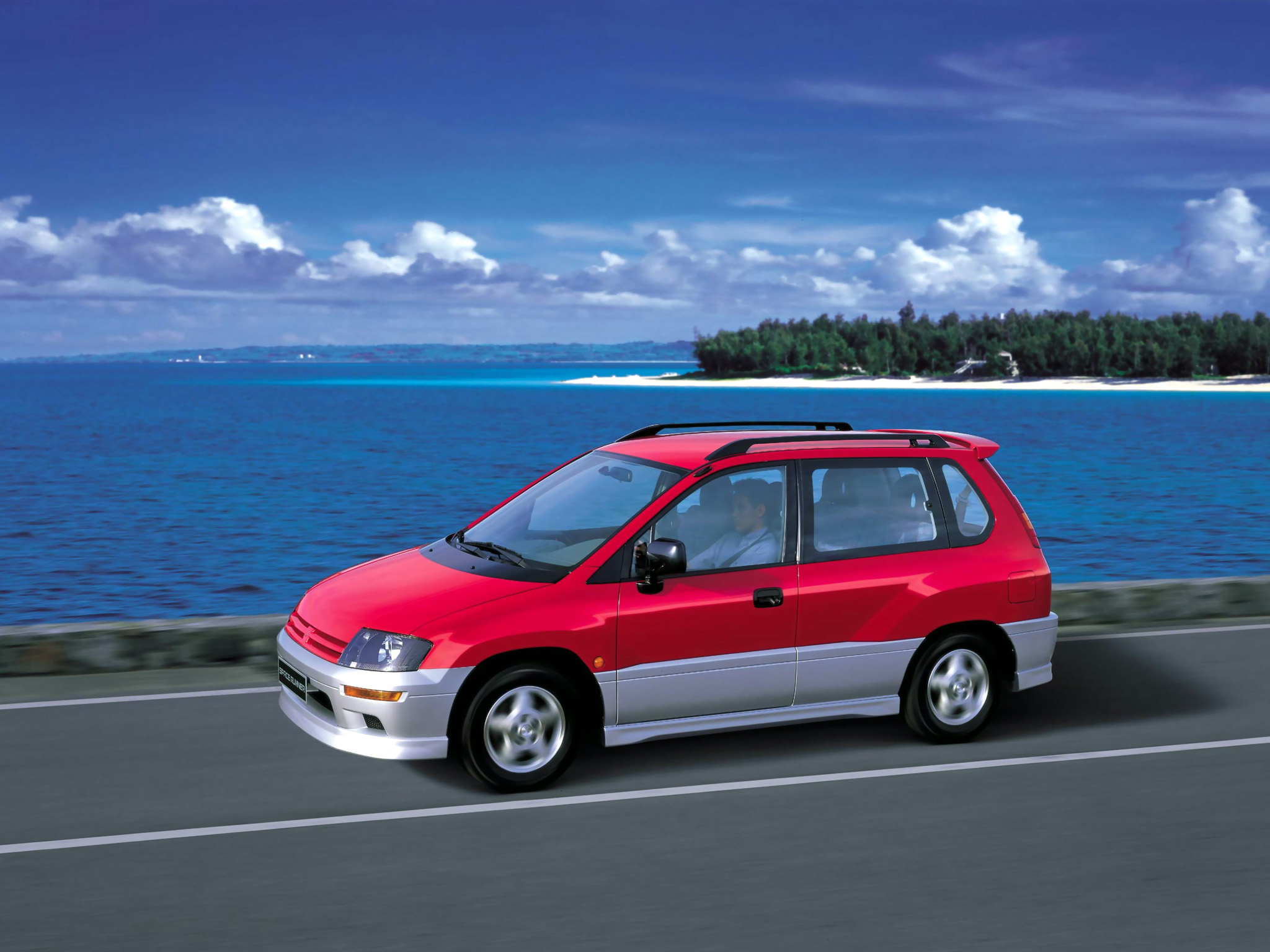 1999 Mitsubishi Space Runner Mpv 4-door