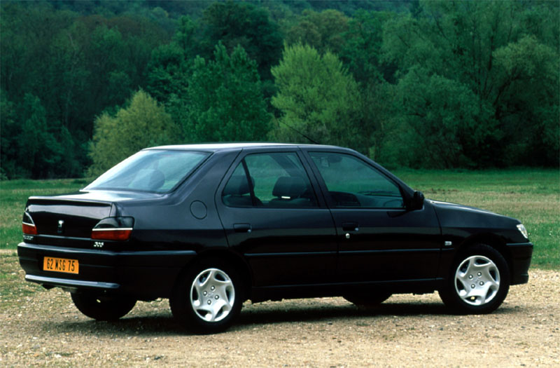 1999 Peugeot 306 Hatchback 3-door