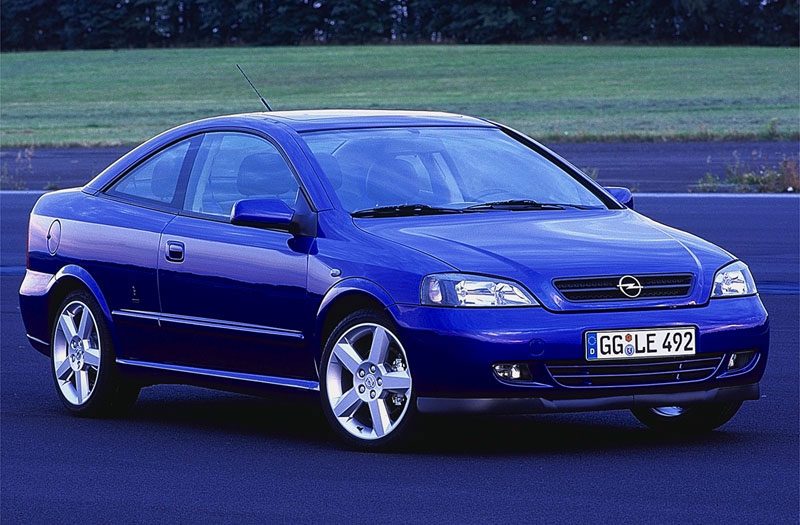 2000 Opel Astra Coupe Coupe 2-door