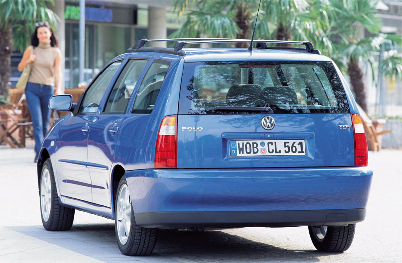 2000 Volkswagen Polo Variant Wagon 5-door