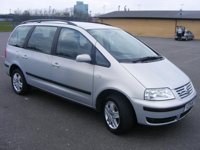 2000 Volkswagen Sharan Mpv 5-door