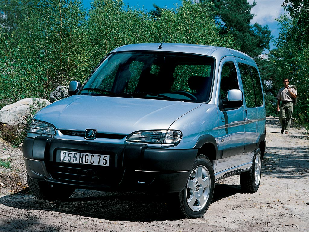 2002 Peugeot Partner Mpv 4-door