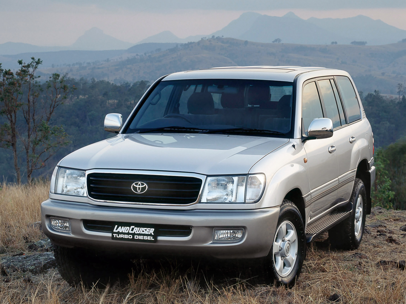 2002 Toyota Land Cruiser 100 Suv 5-door