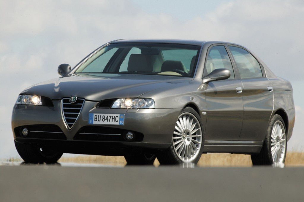 2003 Alfa Romeo 166 Sedan 4-door