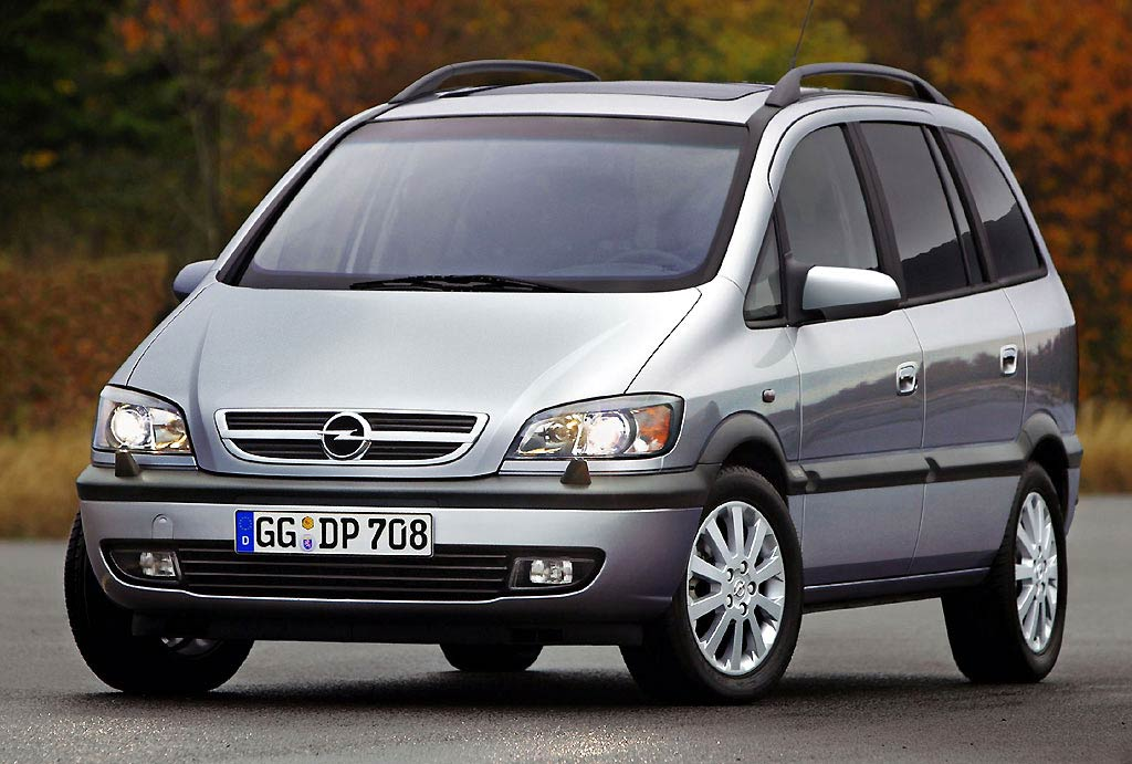 opel zafira cars specifications technical data. Black Bedroom Furniture Sets. Home Design Ideas