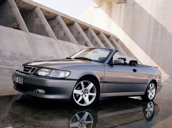 2003 Saab 9-3 Cabriolet Convertible 2-door