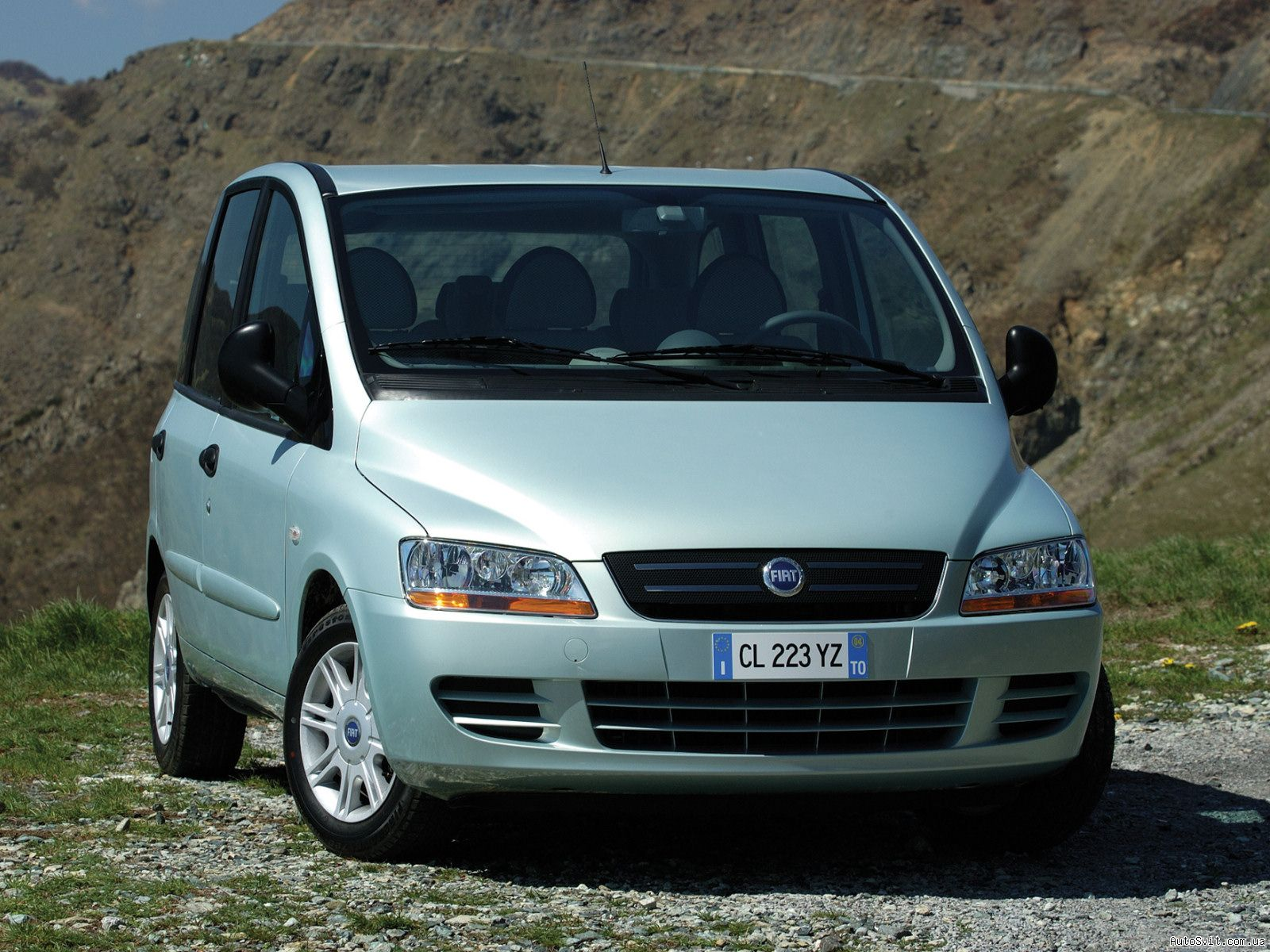 2004 Fiat Multipla Mpv 5-door