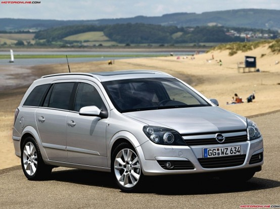2004 Opel Astra Stationwagon Wagon 5-door