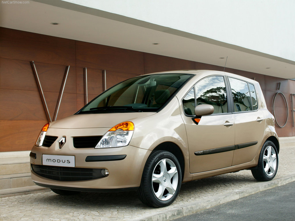 renault modus cars specifications technical data. Black Bedroom Furniture Sets. Home Design Ideas