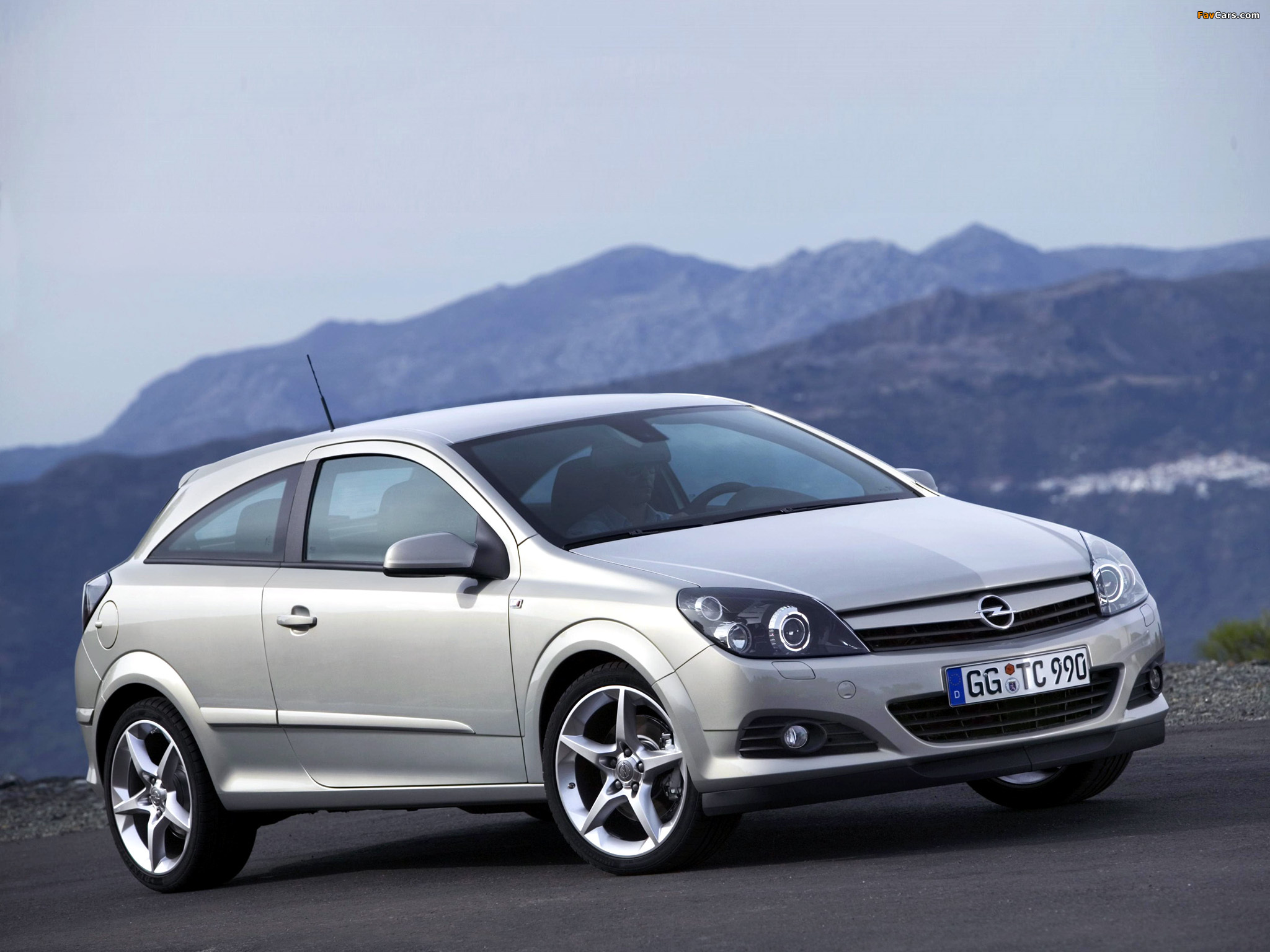 2005 Opel Astra GTC Coupe 3-door
