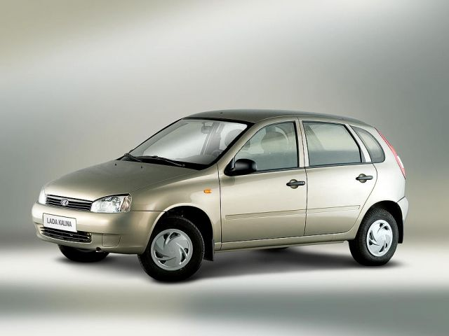 2007 Lada Kalina 1119 Hatchback 5-door