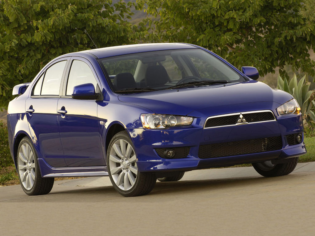 2007 Mitsubishi Lancer Sedan 4-door