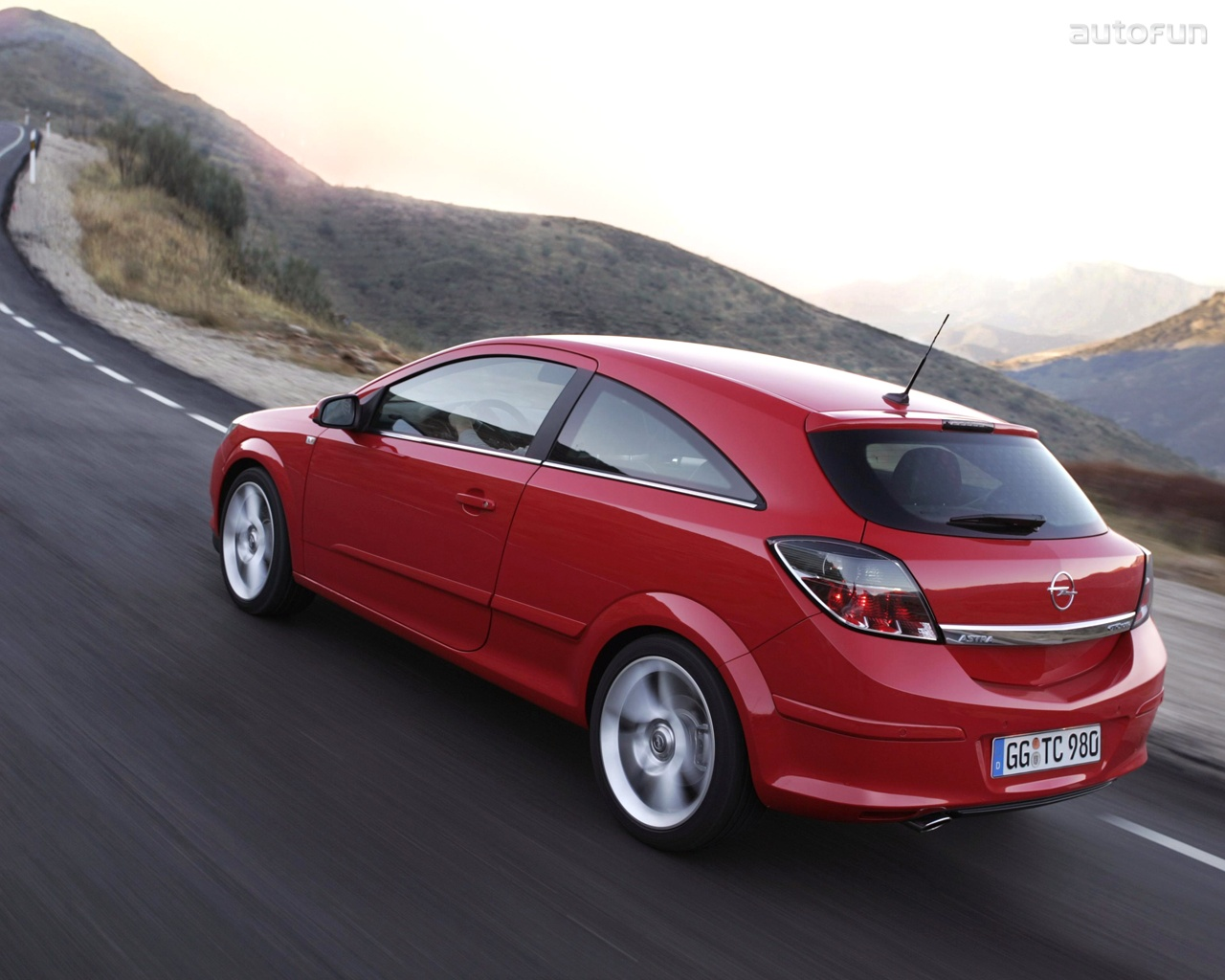 2007 Opel Astra GTC Coupe 3-door