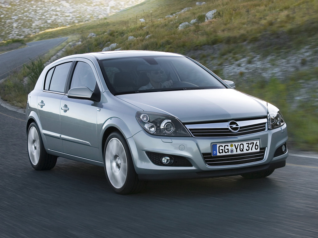 2007 Opel Astra Hatchback 5-door
