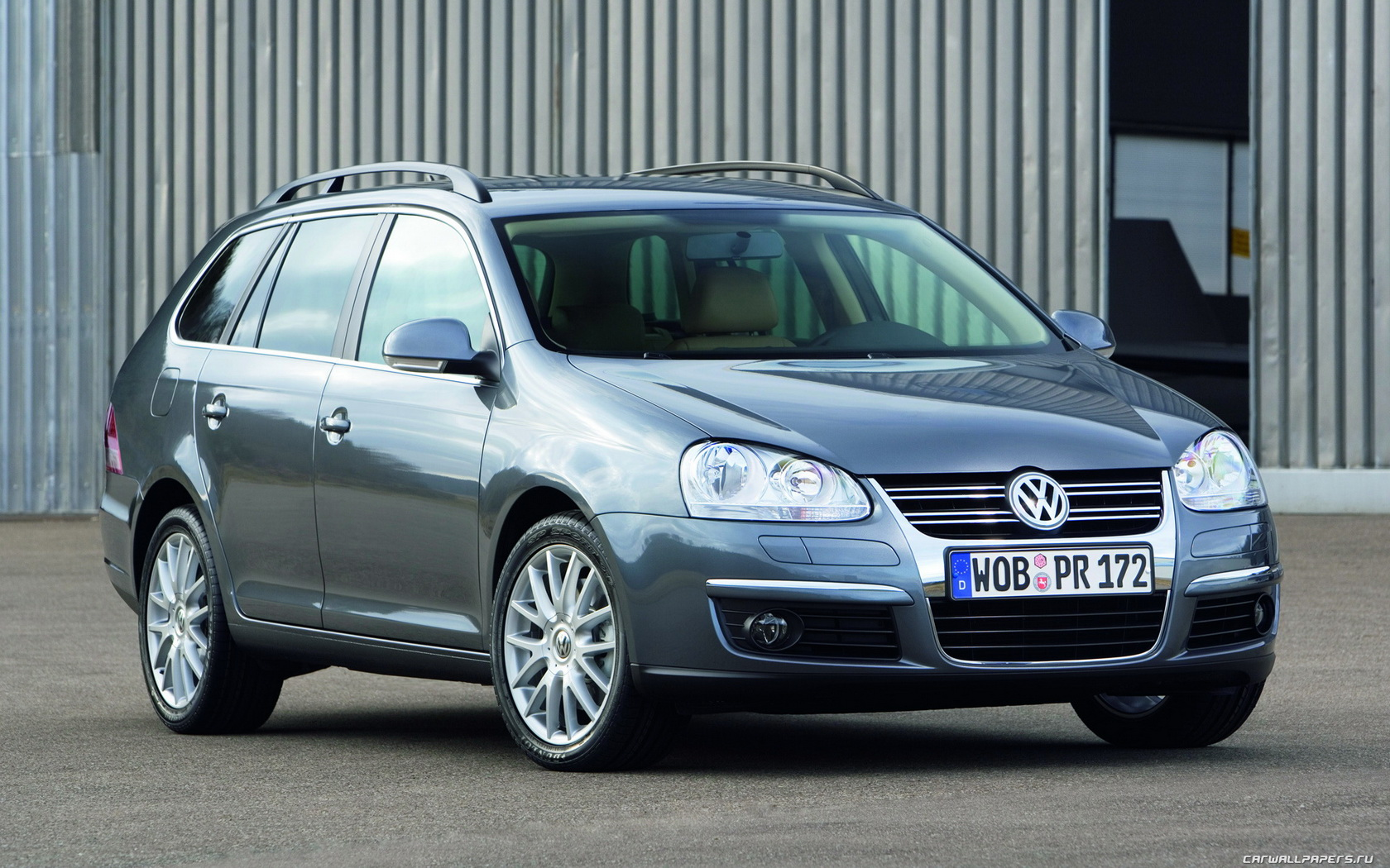 2007 Volkswagen Golf Variant Wagon 5-door