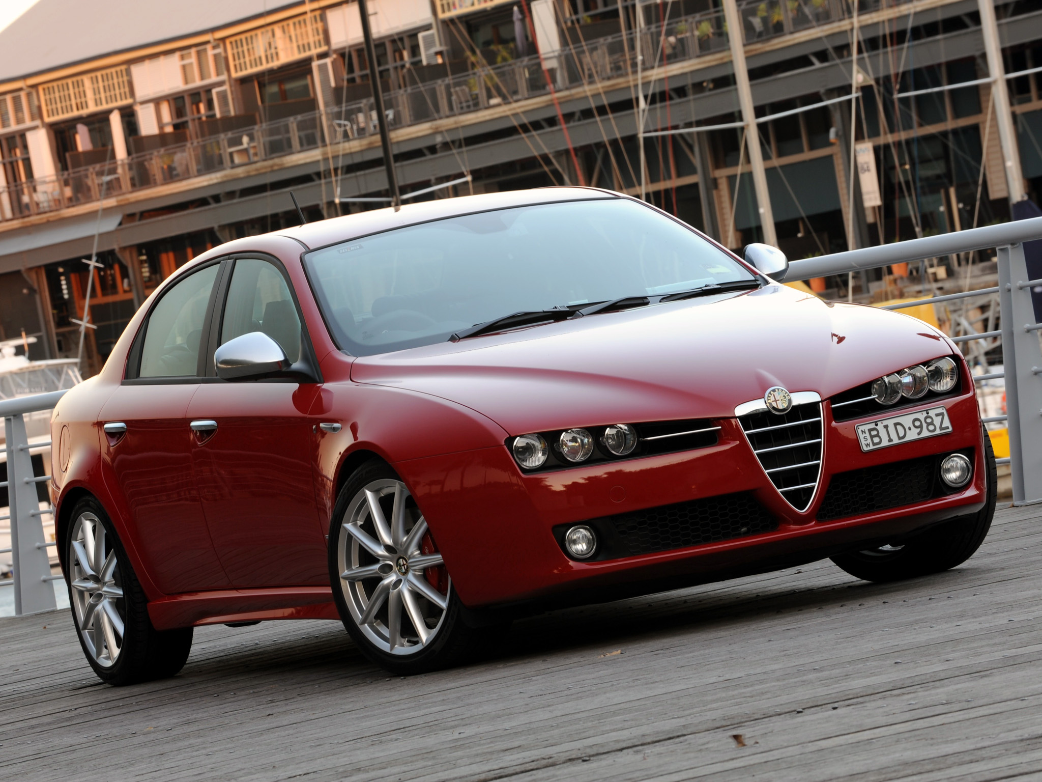2008 Alfa Romeo 159 Sedan 4-door