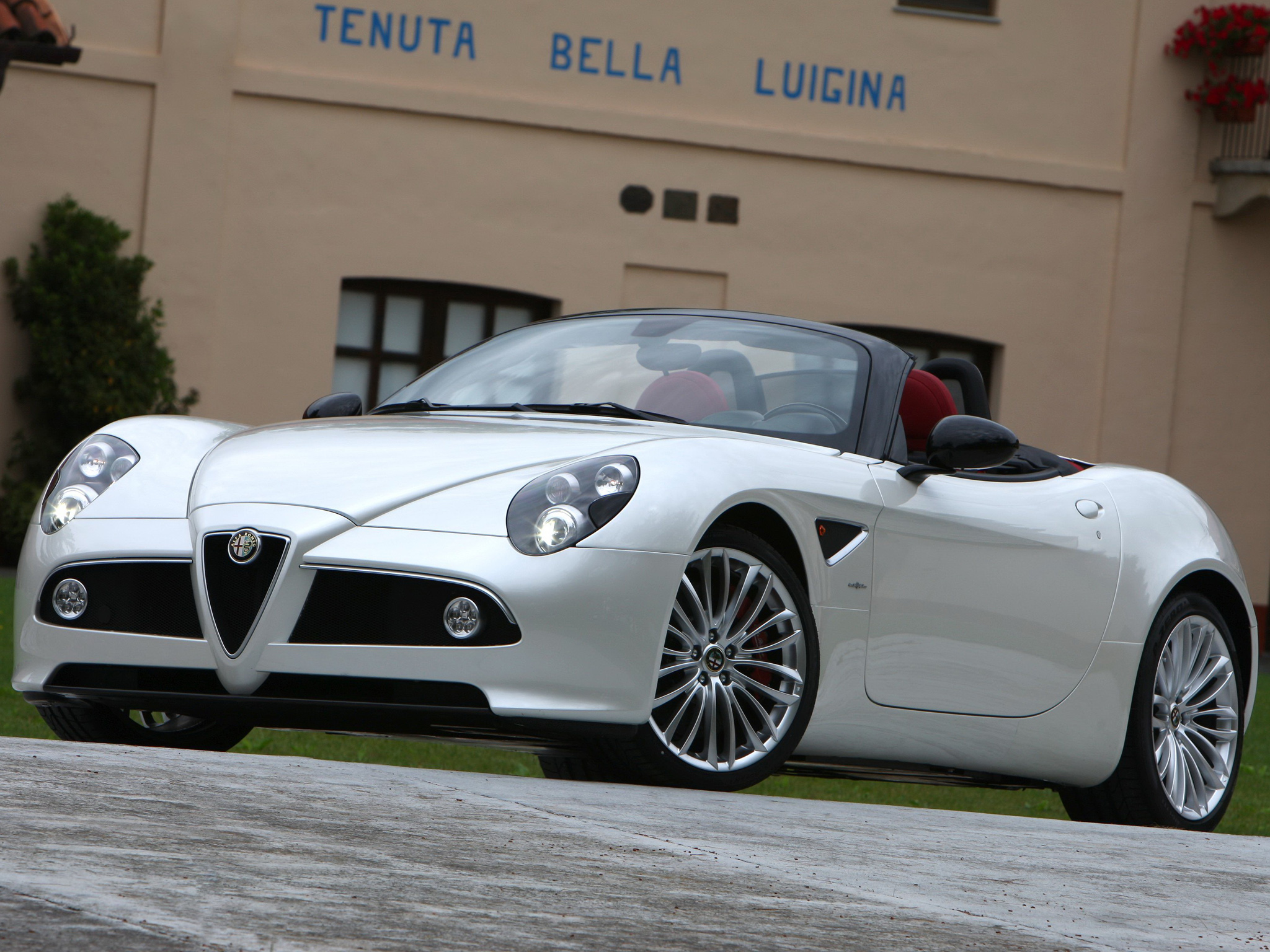2008 Alfa Romeo Spider Convertible 2-door