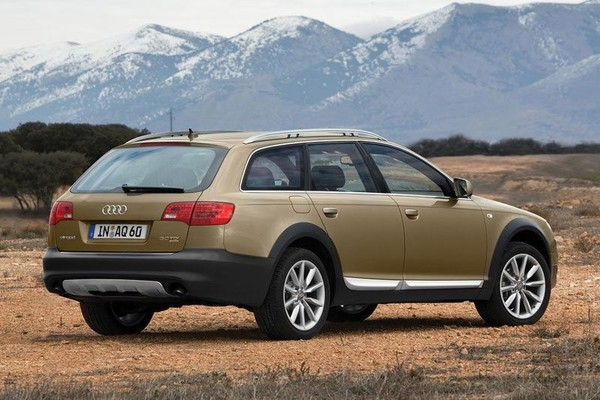 2008 Audi A6 Allroad Wagon 5-door