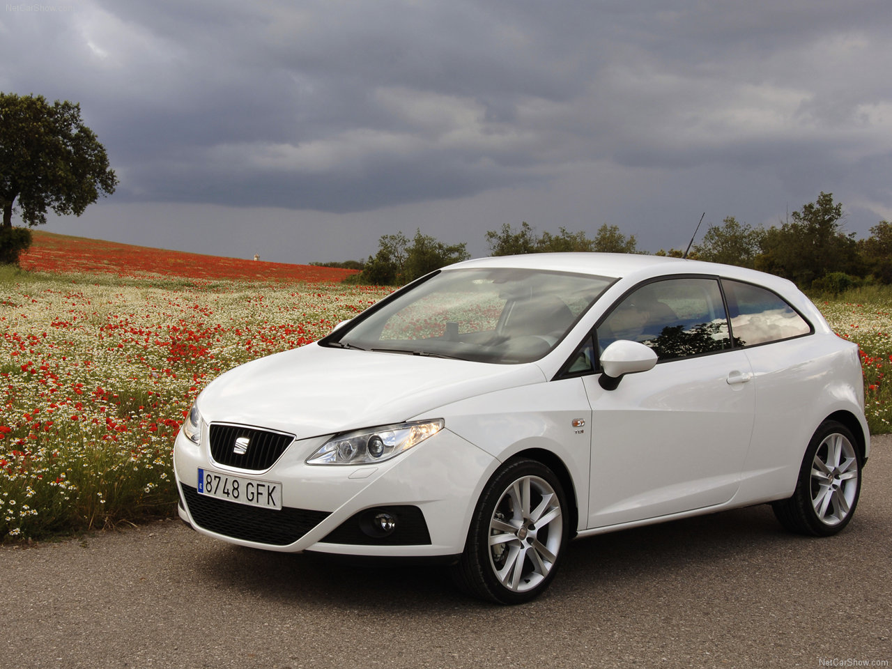 2008 Seat Ibiza SC Hatchback 3-door