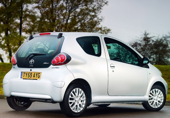 2009 Toyota Aygo Hatchback 3-door