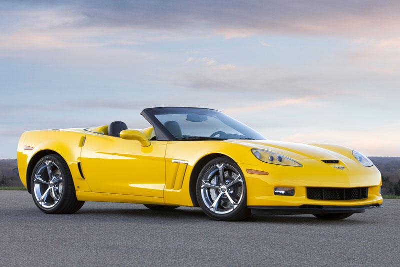 2010 Chevrolet Corvette Convertible Convertible 2-door