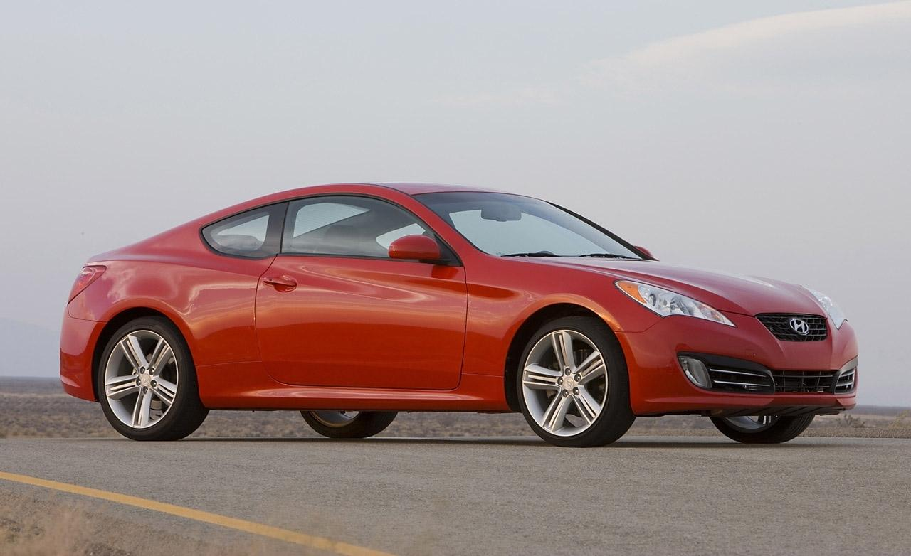 2010 Hyundai Genesis Coupe Coupe 3-door