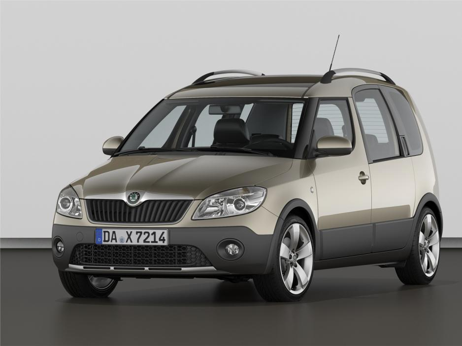 2010 Skoda Roomster Mpv 5-door