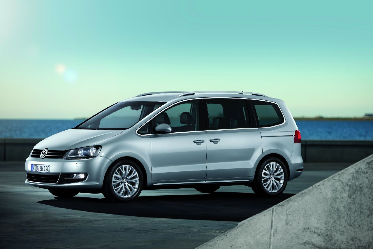 2010 Volkswagen Sharan Mpv 5-door