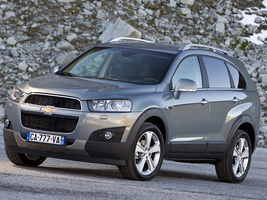 2011 Chevrolet Captiva Suv 5-door