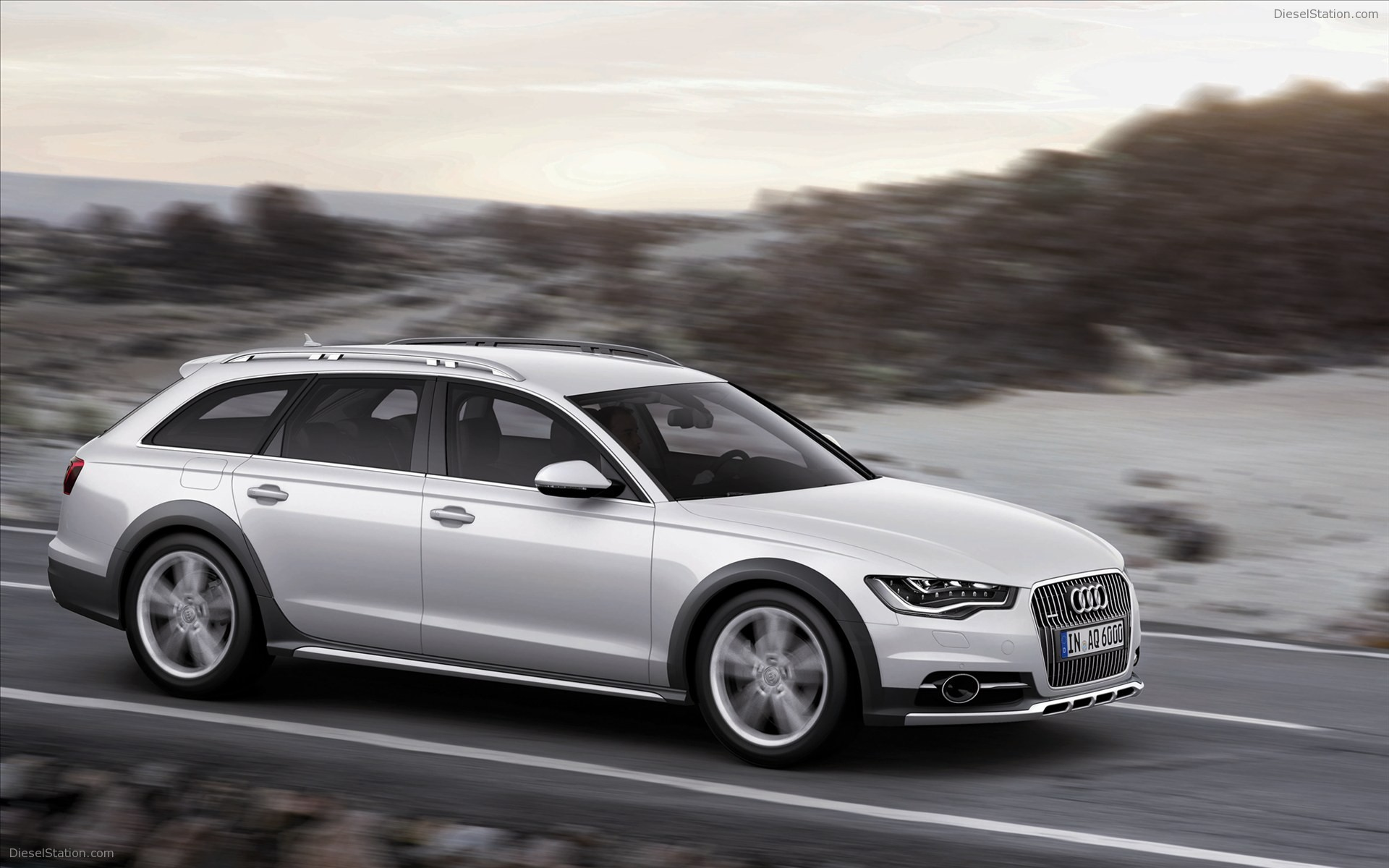2012 Audi A6 Allroad Wagon 5-door